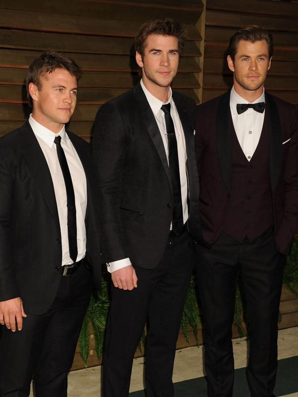 Les frères Hemsworth