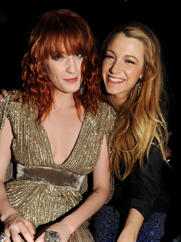 Florence Welch & Blake Lively