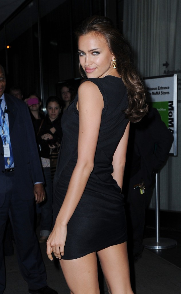 Irina Shayk lors de la première du film The Conspirator à New York, le 11 avril 2011.