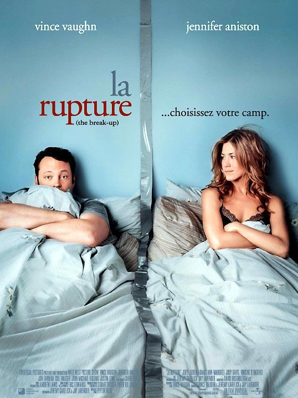"""Dans """"La Rupture"""", en 2006, elle quitte Vince Vaughn mais l'aime dans la vie"""