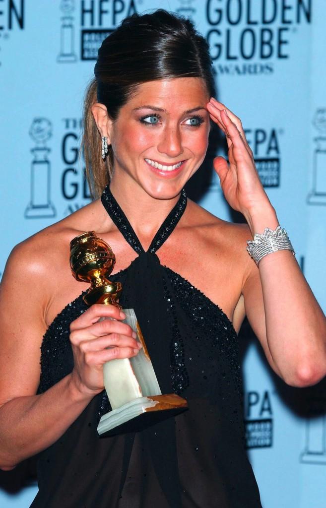 Sacrée meilleure actrice en 2003 pour Friends à la cérémonie des Golden Globes 2003