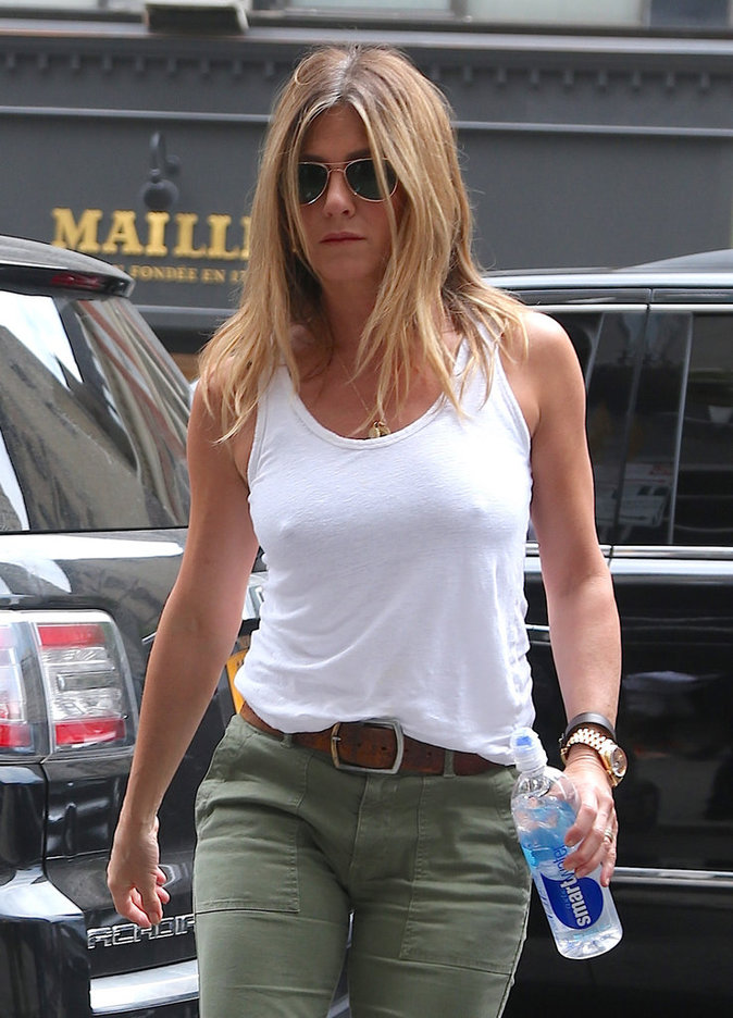 Jennifer Aniston à New York