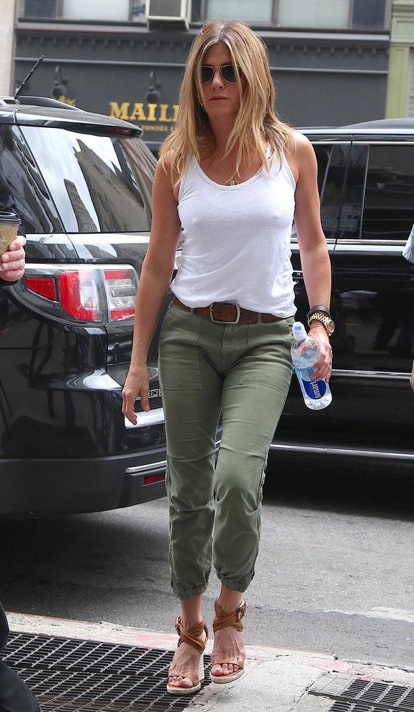Jenniifer Aniston, élue plus belle femme du monde en 2016...