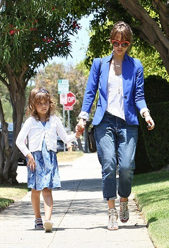 Jessica Alba à Santa Monica le 14 juin 2013