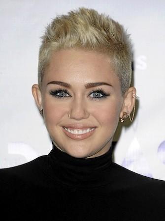 3 : Miley Cyrus