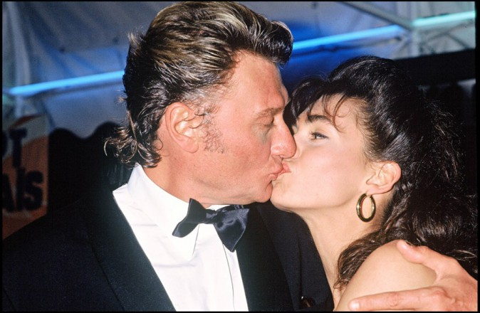 Johnny Hallyday et Adeline Blondieau : avant la guerre, il y a eu de l'amour !