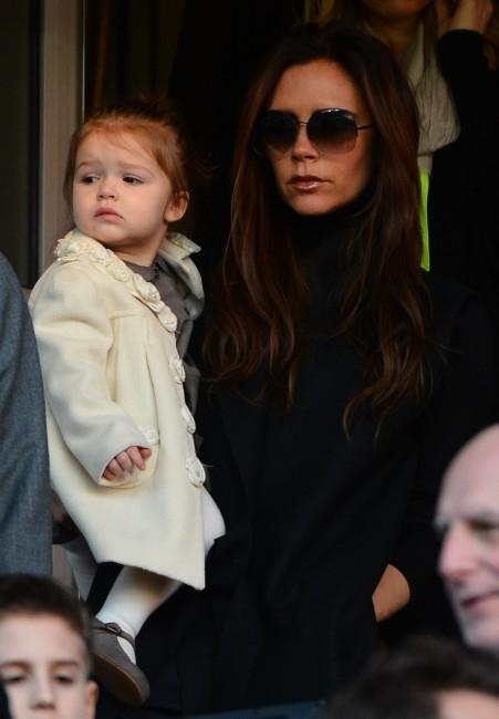 Victoria Beckham a applaudi David au Parc des Princes