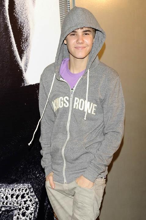 Justin Bieber à Madrid, le 5 avril 2011.