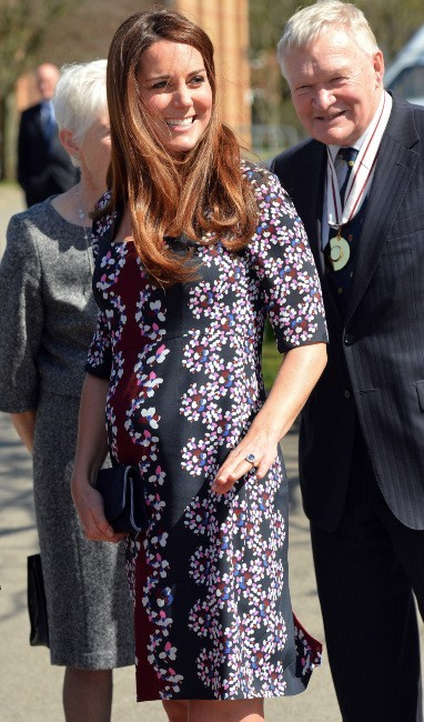 Kate Middleton le 23 avril 2013