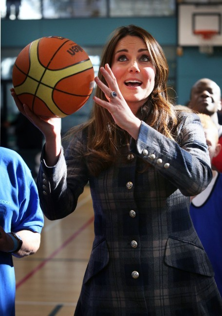 Kate Middleton le 4 avril 2013