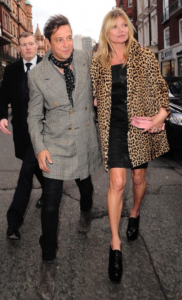 Kate Moss et son mari Jamie Hince !