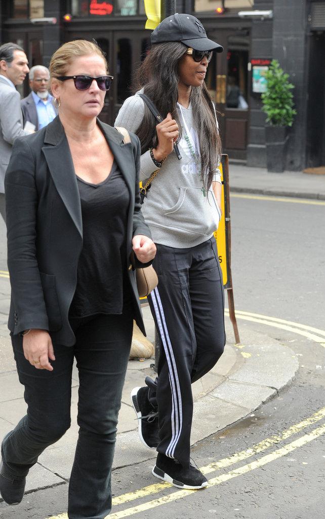 Photos : Naomi Campbell à Londres, le 15 juin 2016
