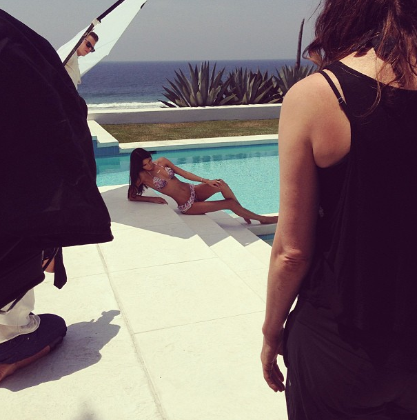 Kendall en bikini