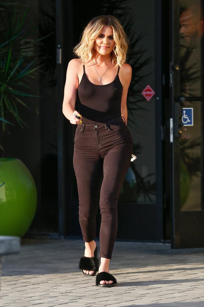 Khloé Kardashian, le 12 juillet à Los Angeles
