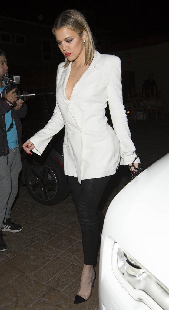 Khloe Kardashian, en bombe au Nobu
