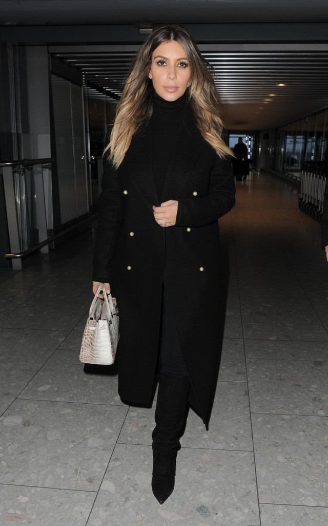 Kim Kardashian quitte Londres pour rejoindre Kanye West à Paris !