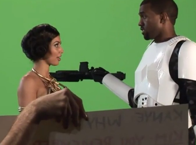 Kanye est un stormtrooper ! Une nouvelle qui va faire du bruit !