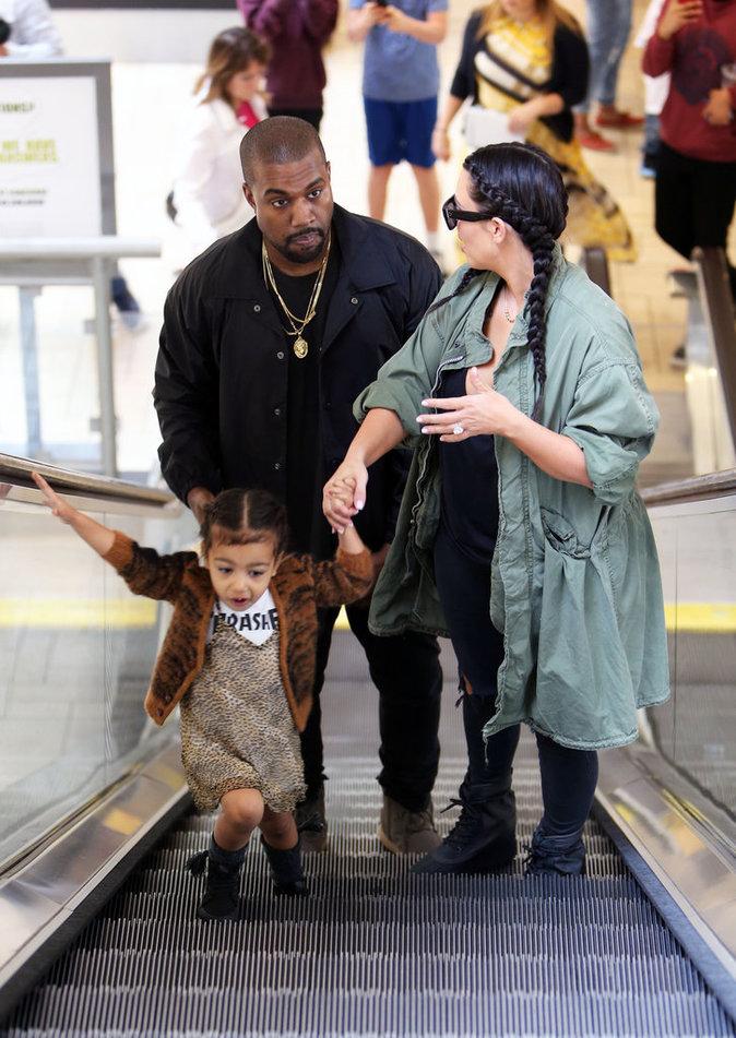 Kim Kardashian et Kanye West, toujours très proches