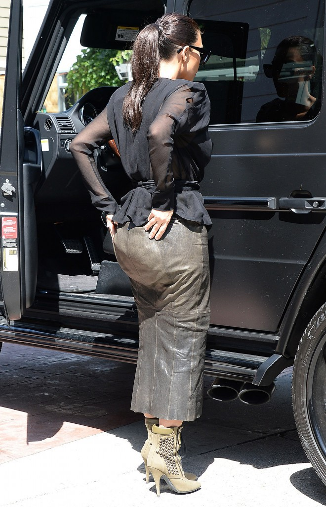 Kim Kardashian en avril 2014.