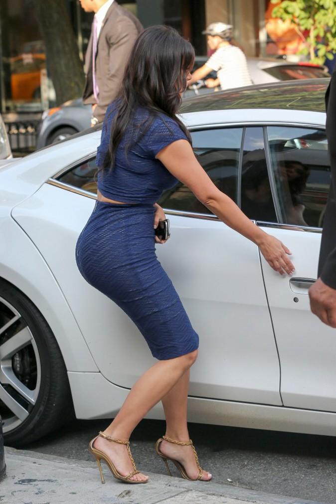 Kim Kardashian en juillet 2014.