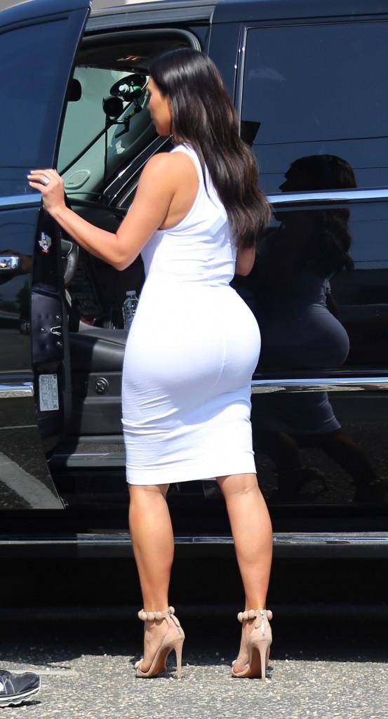 Kim Kardashian en juin 2014.