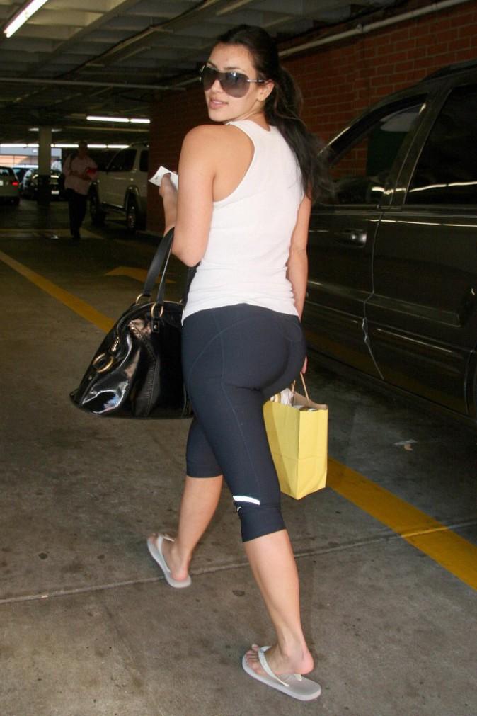 Kim Kardashian en octobre 2007.