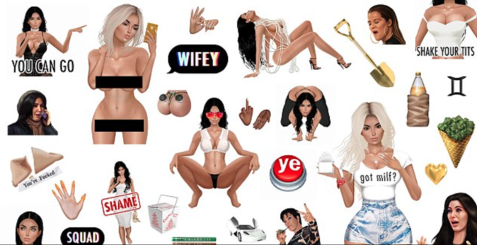 Kim Kardashian poursuit son business !