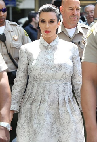 Kim Kardashian au tribual le vendredi 12 avril