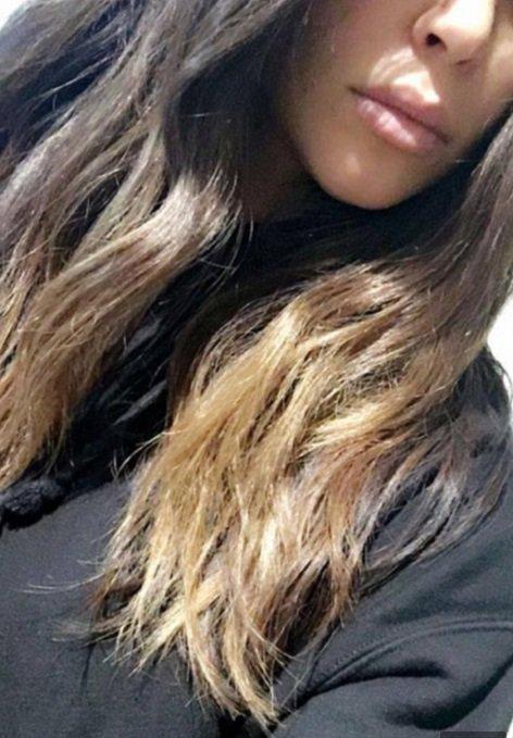 Kim Kardashian, resplendissante avec sa nouvelle couleur de cheveux