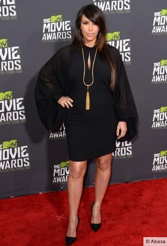Kim Kardashian sur le red carpet !