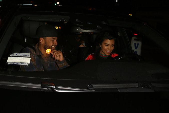 Kourtney Kardashian était de sortie ce jeudi 13 octobre dans les rues de Los Angeles