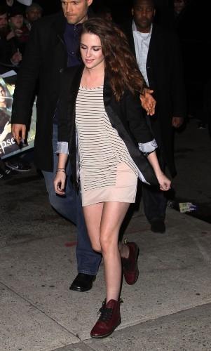 Kristen Stewart, New York, 13 décembre 2012