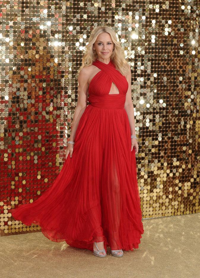 Kylie Minogue à la première d'Absolutely Fabulous