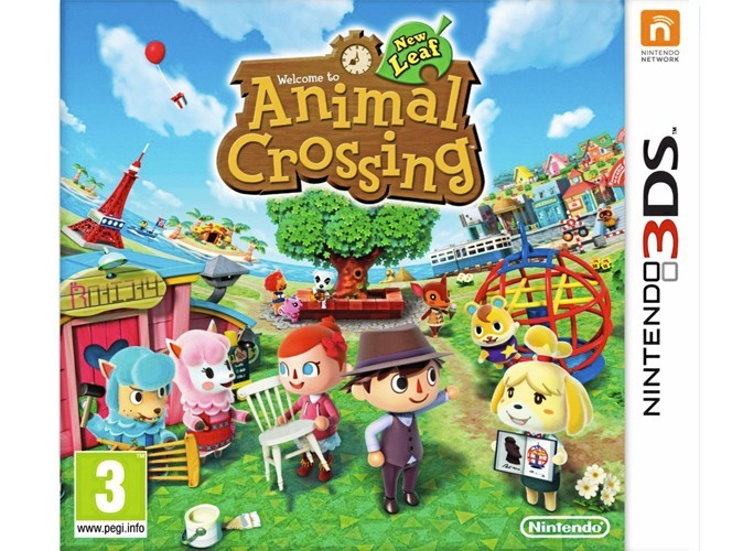 Animal Crossing New Leaf, Nintendo 3DS. 35 €.