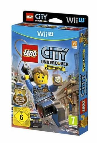Lego City Undercover, jeu Nintendo Wii U. Environ 50 €.