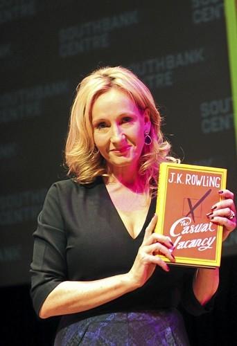 Le nouveau J.K Rowling