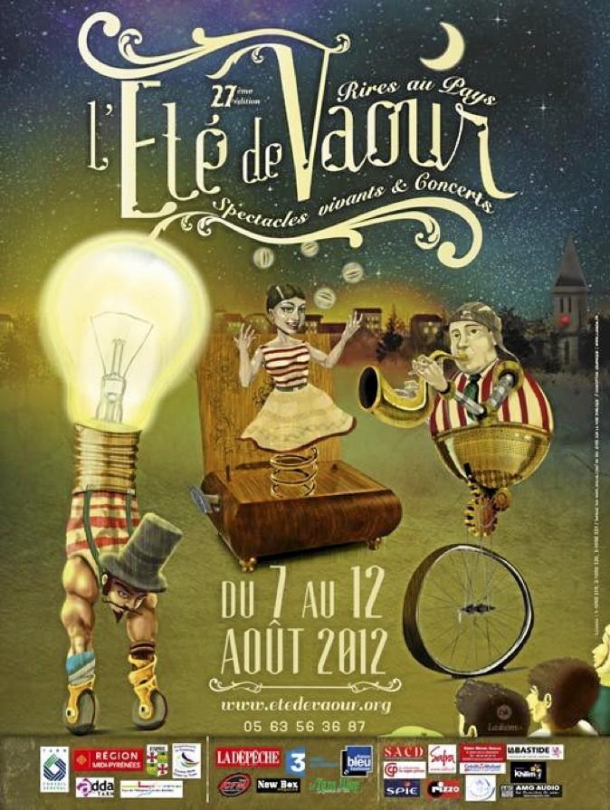 Jusqu'au 12 août, le festival L'été de Vaour, dans le Tarn, propose cirque, spectacles de rue et musique !