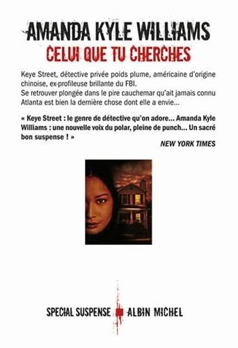Celui que tu cherches, d'Amanda Kyle Williams, Albin Michel. 21,50 €.