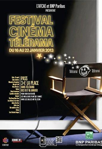 Télérama Jusqu'au 22 janvier, vous pouvez voir ou revoir les 15 meilleurs films de 2012 pour 3 € la place sur présentation d'un passe, vala...
