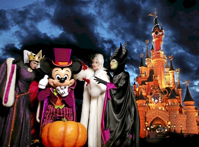 Fêtez Halloween à Disneyland!