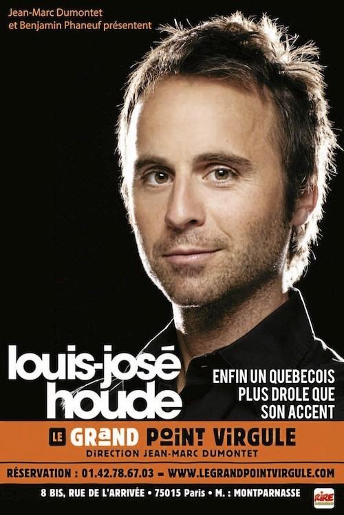 20 h : Louis- José Houde