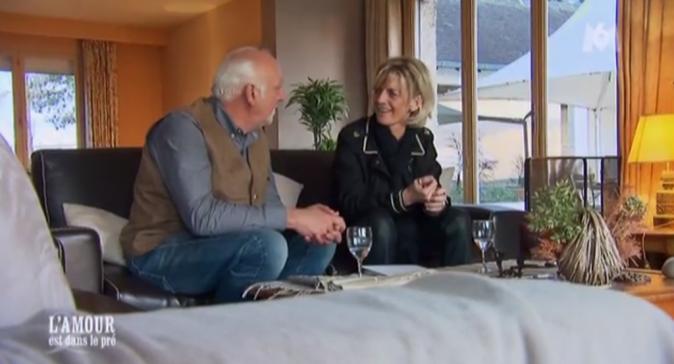 Premiers moments d'intimité pour Claude et Cathy