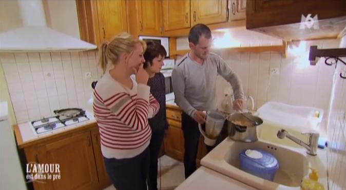 Quant à Jean-Baptiste, il est temps pour lui de mixer sa soupe !