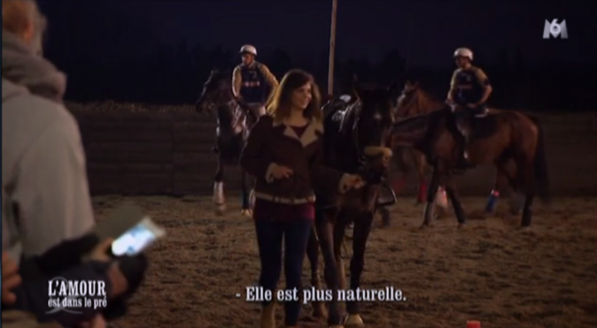 Florent a entraîné Marine et Elodie à son entraînement de horse-ball