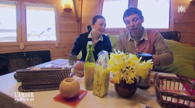 Pour Cyrille et Lisa, le week-end a lieu dans une cabane dans les Vosges !