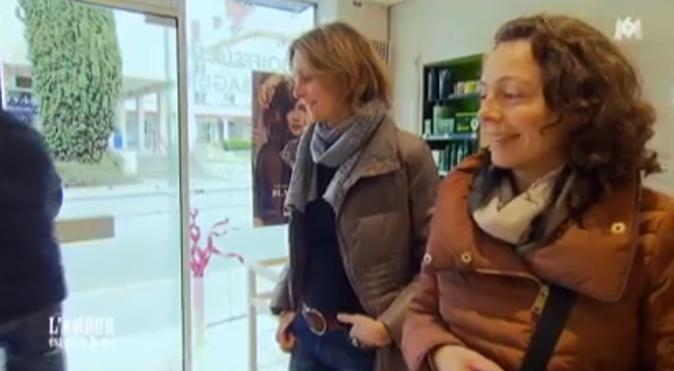 Séance coiffeur pour Karine et Caroline