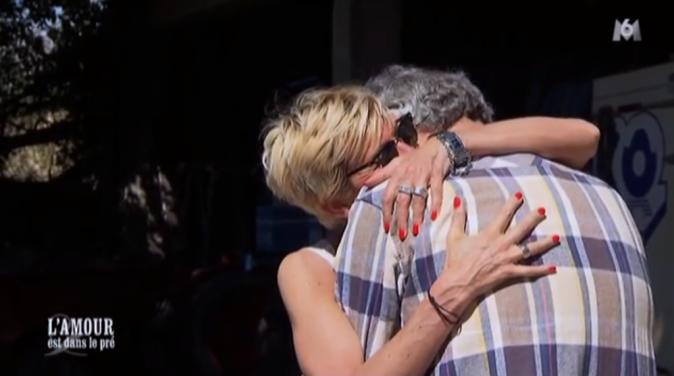 Au moment du départ d'Annick, Thierry fond en larmes !