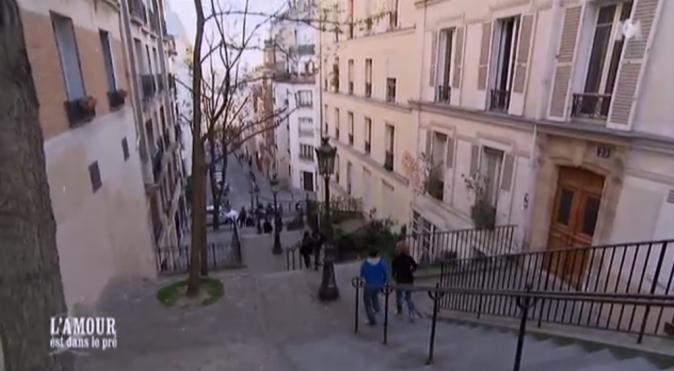 Claire et Adrien à Montmartre