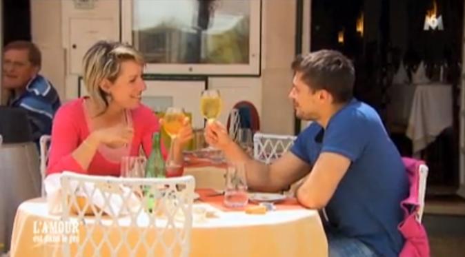 Déjeuner en tête-à-tête au Portugal pour Claire et Adrien !