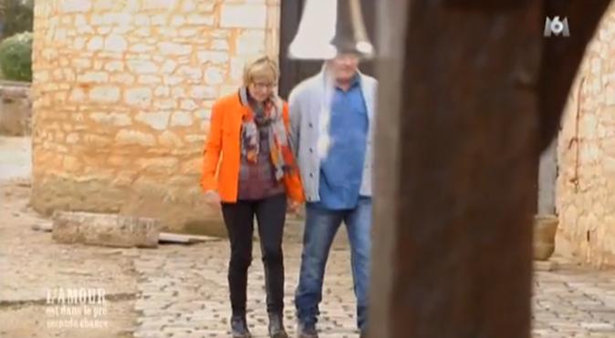 Suprise, Philippe le Charentais et Marie-Pierre arrivent main dans main au bilan